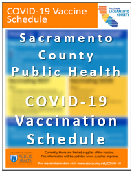 SCPH COVID-19 Vaccination Schedule