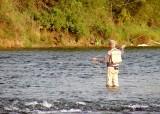 American River fisherman