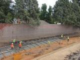 Watt Avenue Sound Wall Construction