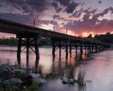 PCA Jims Bridge at sunrise