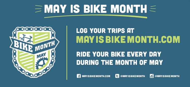May is Bike Month Header Image