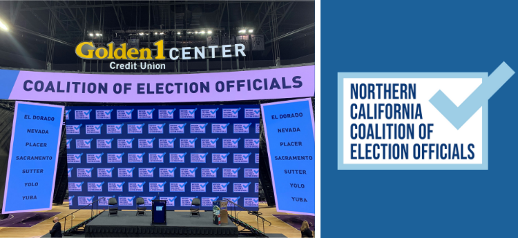 Northern California Coalition of Election Officials - Empty State at Golden 1 Center